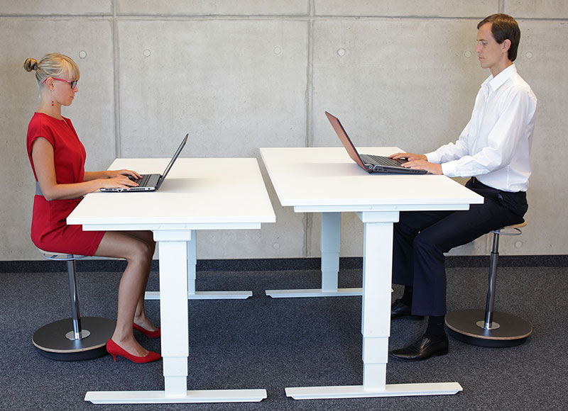 The Office Designer Height Adjustable Table
