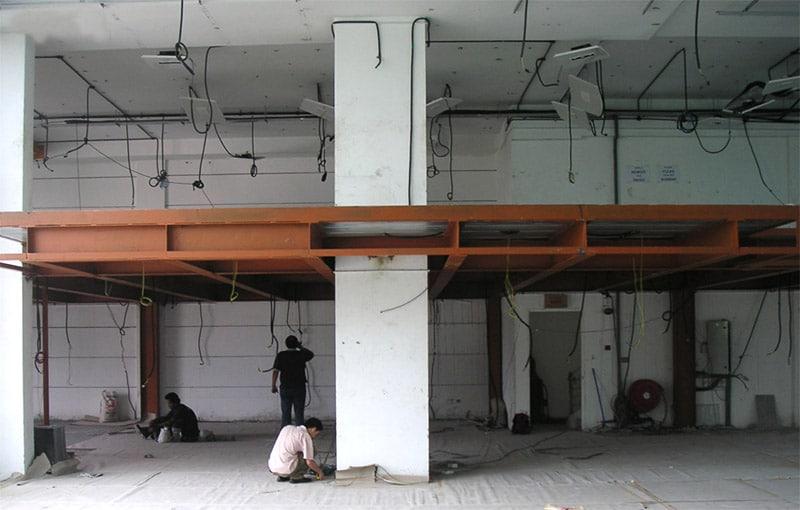 The Office Designer Mezzanine Floor