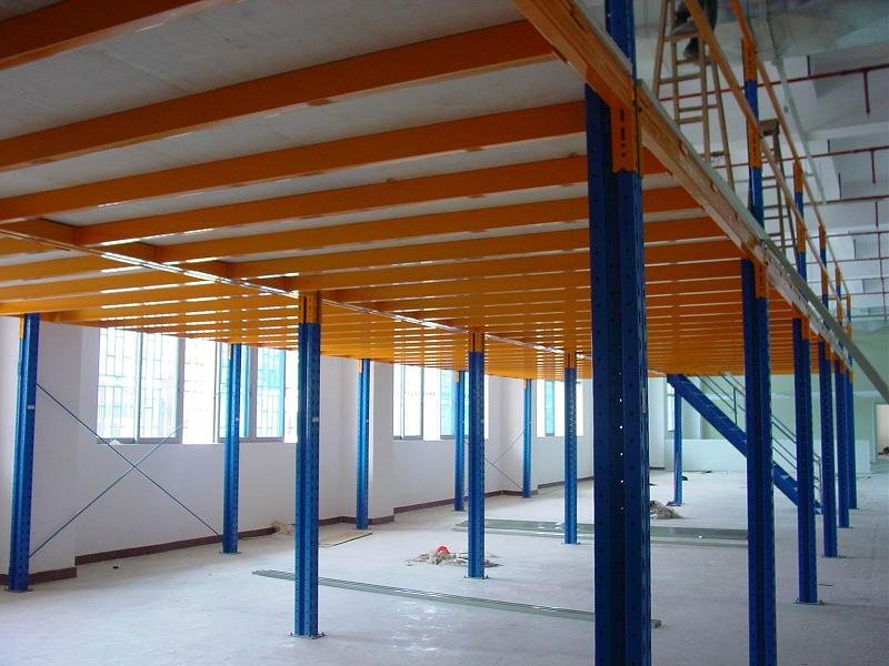 The Office Designer Mezzanine Floor Storage